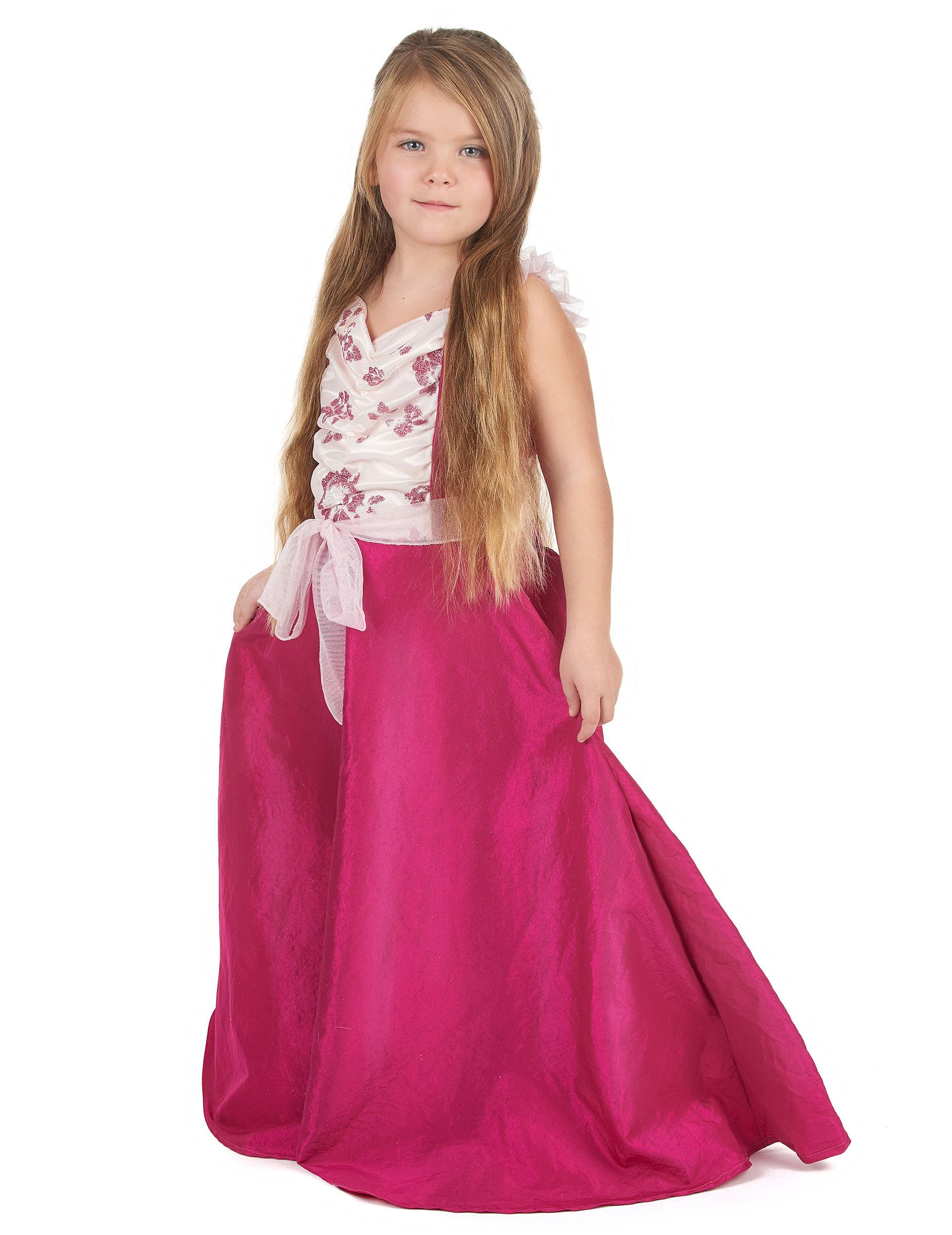 Deguisement robe bal des roses
