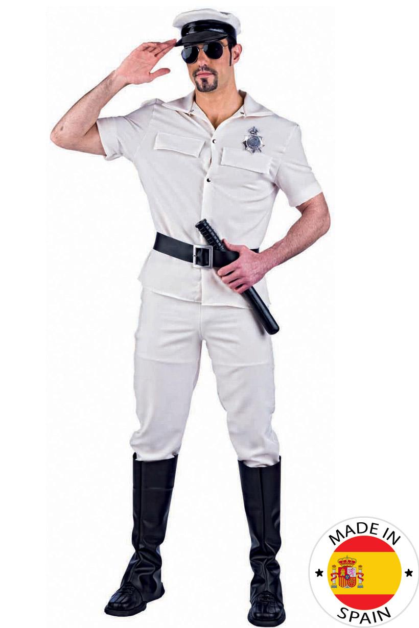 Déguisement Stripteaser Policier beige Sexy Homme   Deguise-toi ... 77ad6da7828e