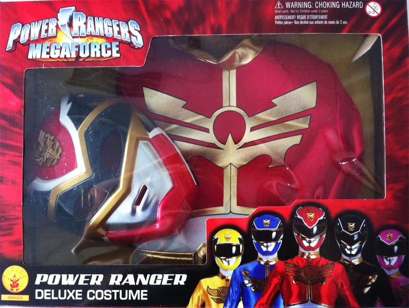 Coffret d guisement rembourr power rangers megaforce - Masque de power rangers ...