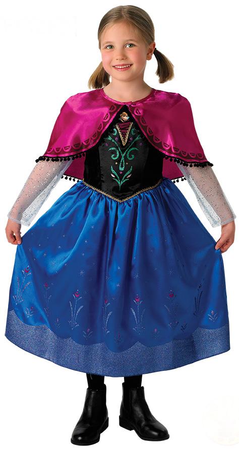Déguisement Anna La Reine des Neiges™ Fille Luxe   Deguise-toi ... e8049fe62b22