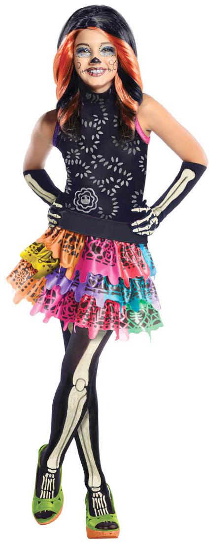 Déguisement Luxe Skelita Calaveras Monster High Fille Deguise Toi