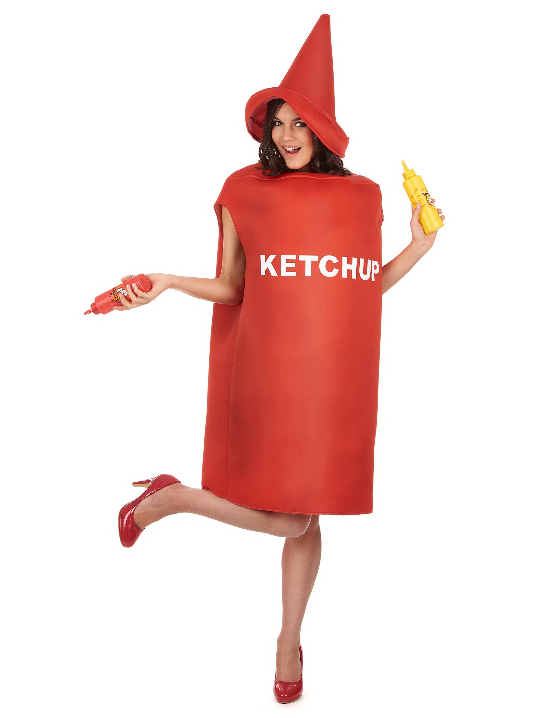 deguisement ketchup