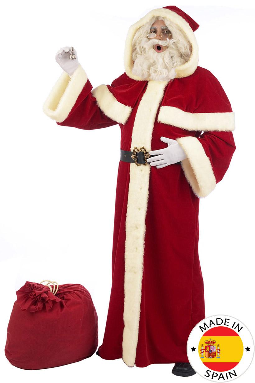 4e8bae6dc2a58 Déguisement Père Noël adulte - Premium   Deguise-toi