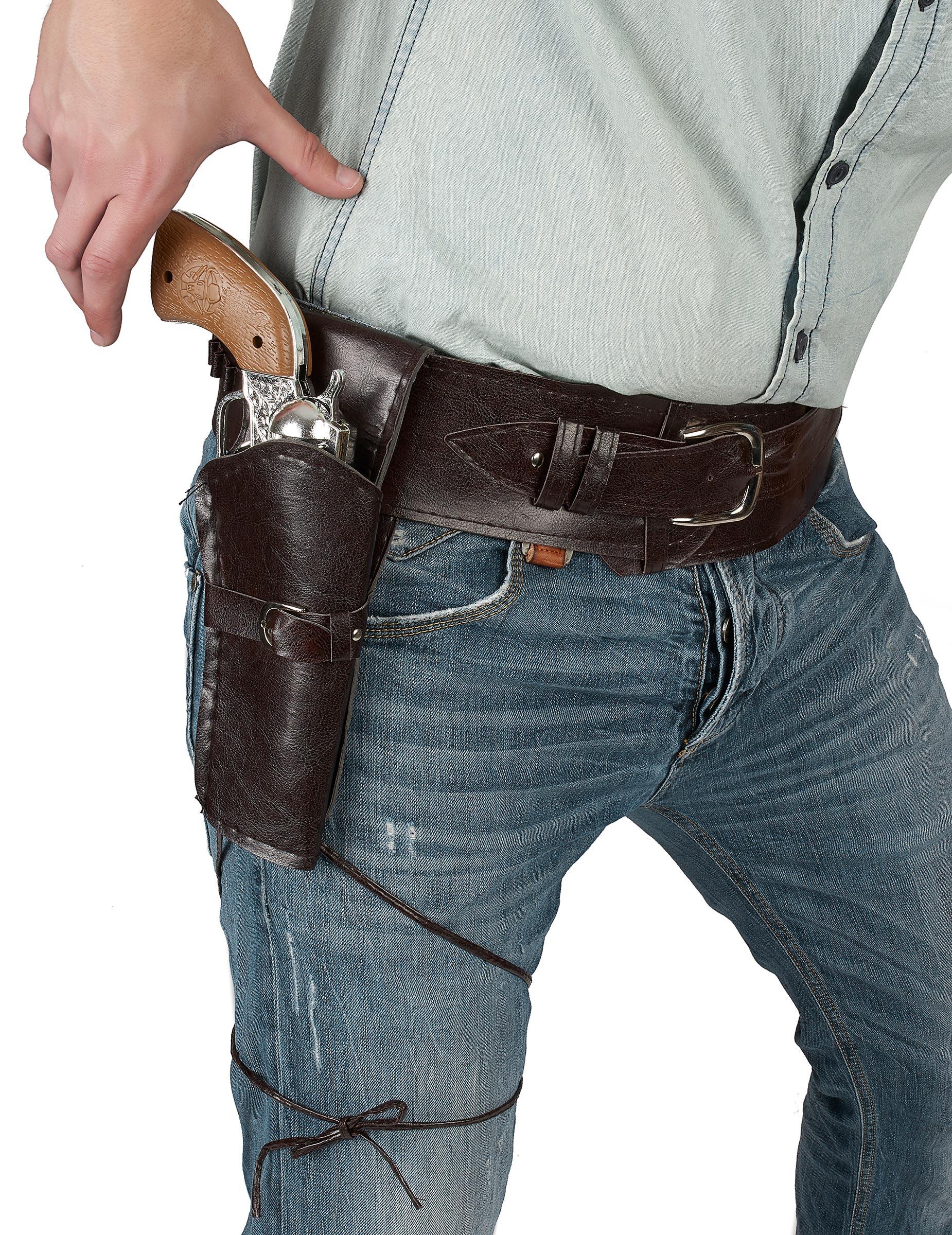 ceinture avec tui cowboy adulte deguise toi achat de accessoires. Black Bedroom Furniture Sets. Home Design Ideas