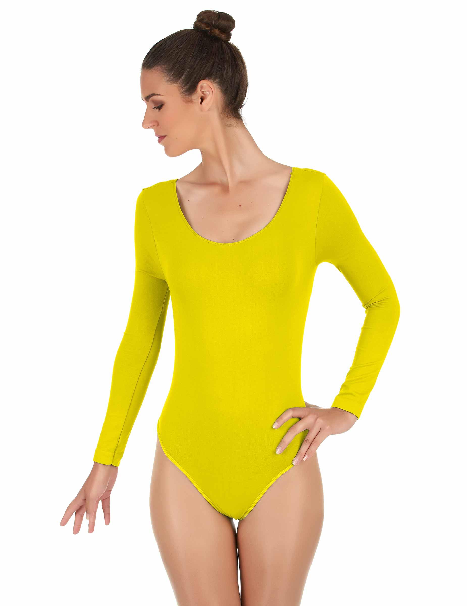Body jaune adulte   Deguise-toi 87933b37b73