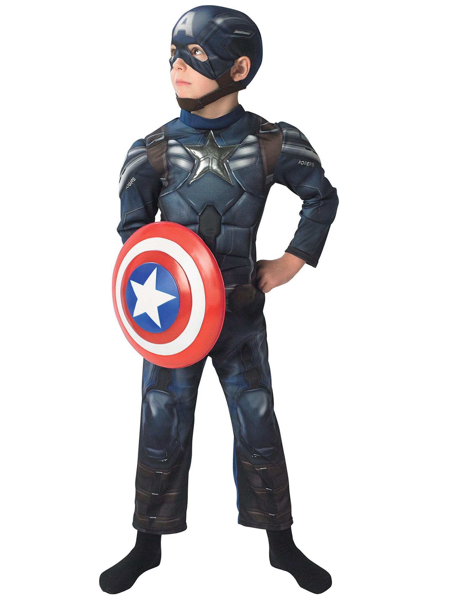 muskul ses captain america 2 kinder kost m kost me f r. Black Bedroom Furniture Sets. Home Design Ideas