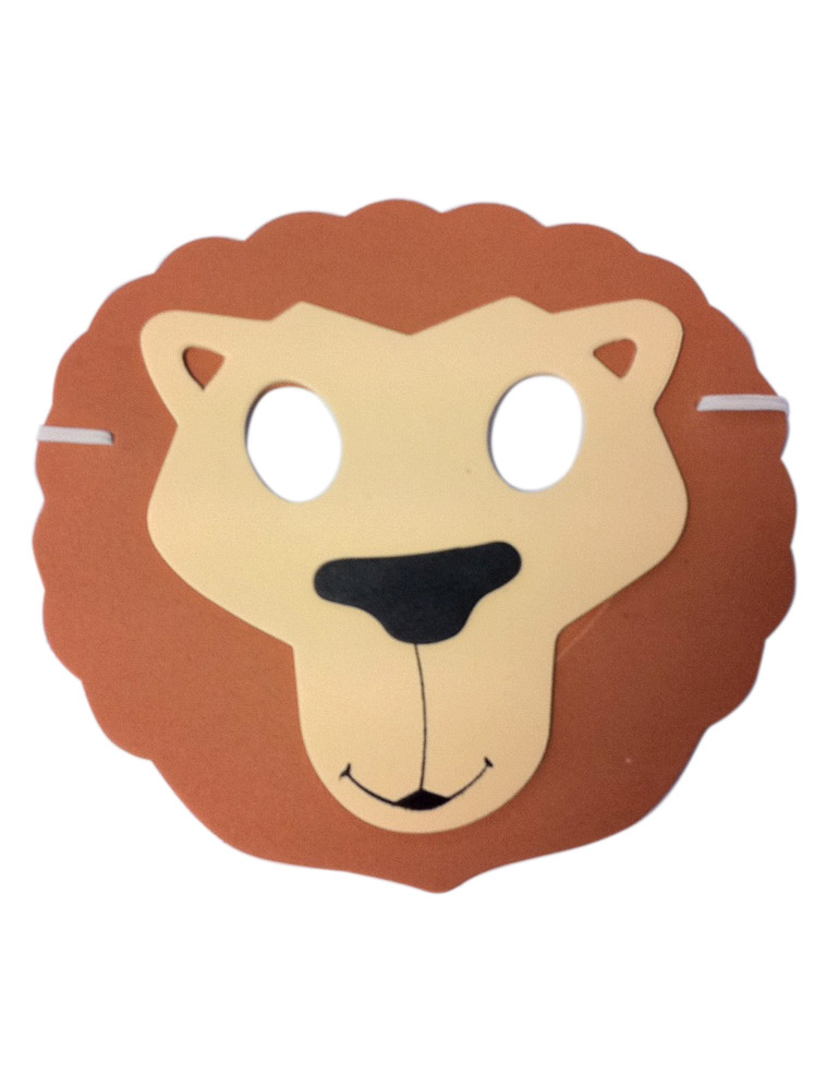 masque lion enfant - Masque Lion