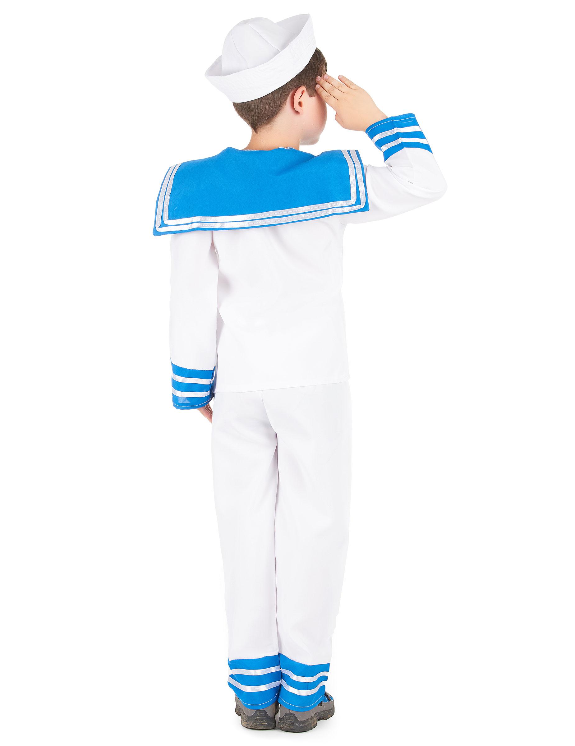 86f7b69b8a4b9 Déguisement marin bleu et blanc garçon : Deguise-toi, achat de ...