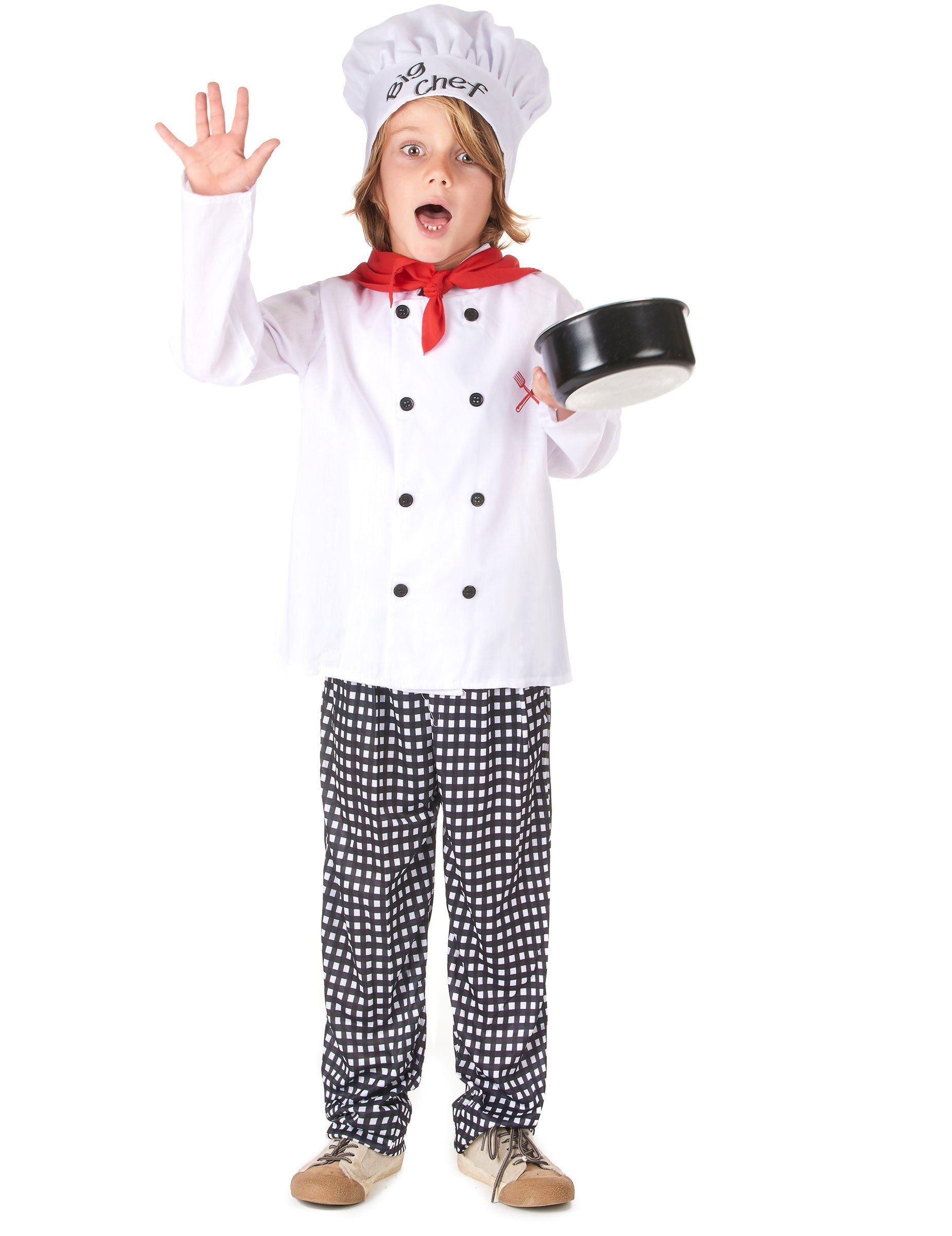 Déguisement chef cuisinier garçon   Deguise-toi, achat de ... e51b282f7854