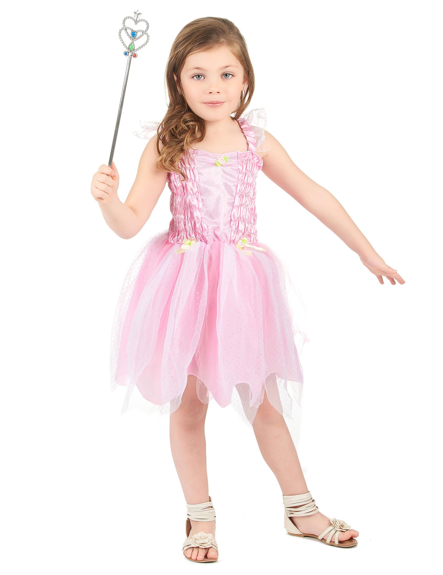 88b5fc71825 Déguisement fée princesse rose fille   Deguise-toi