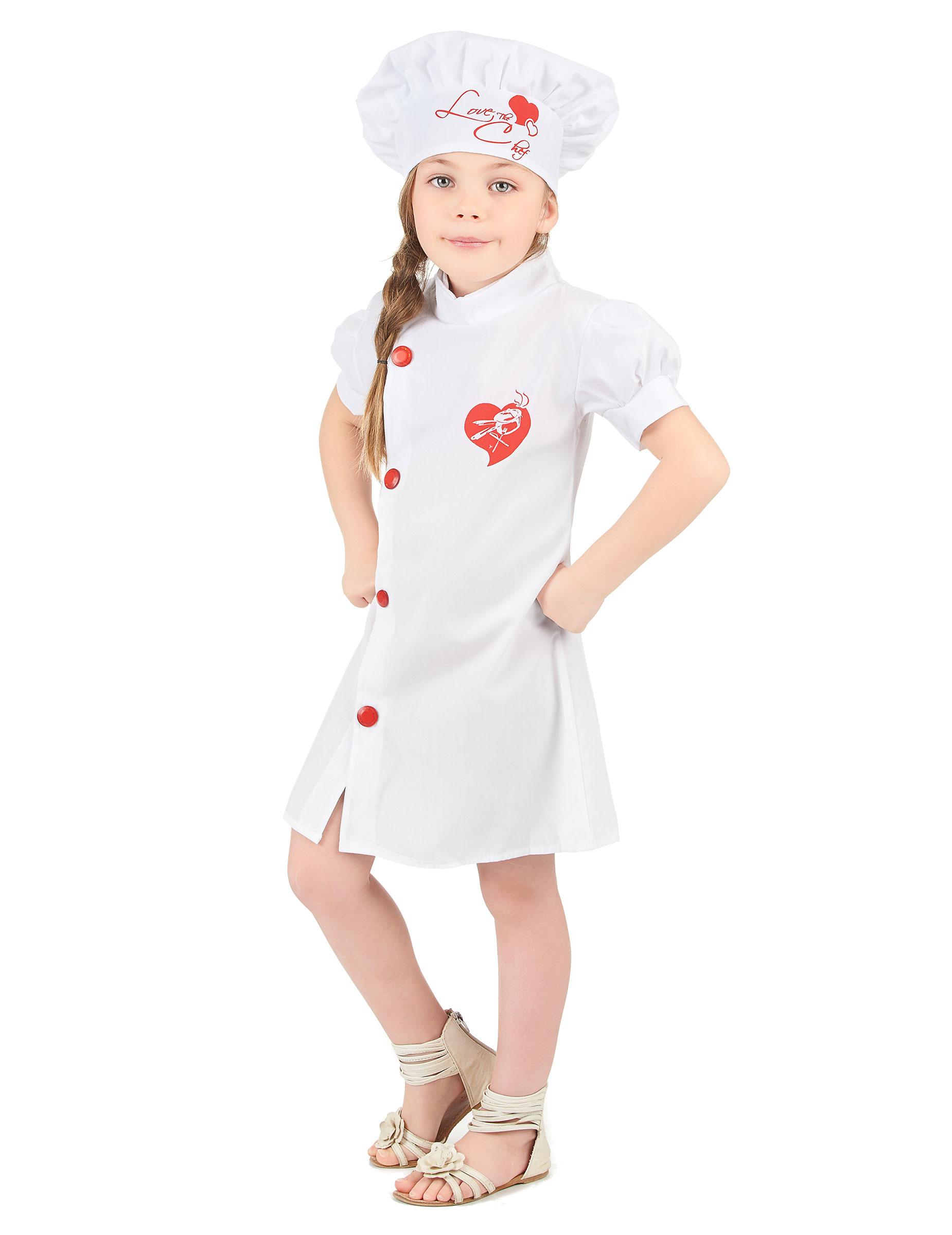 D guisement chef cuisinier fille deguise toi achat de for Cuisinier occasion