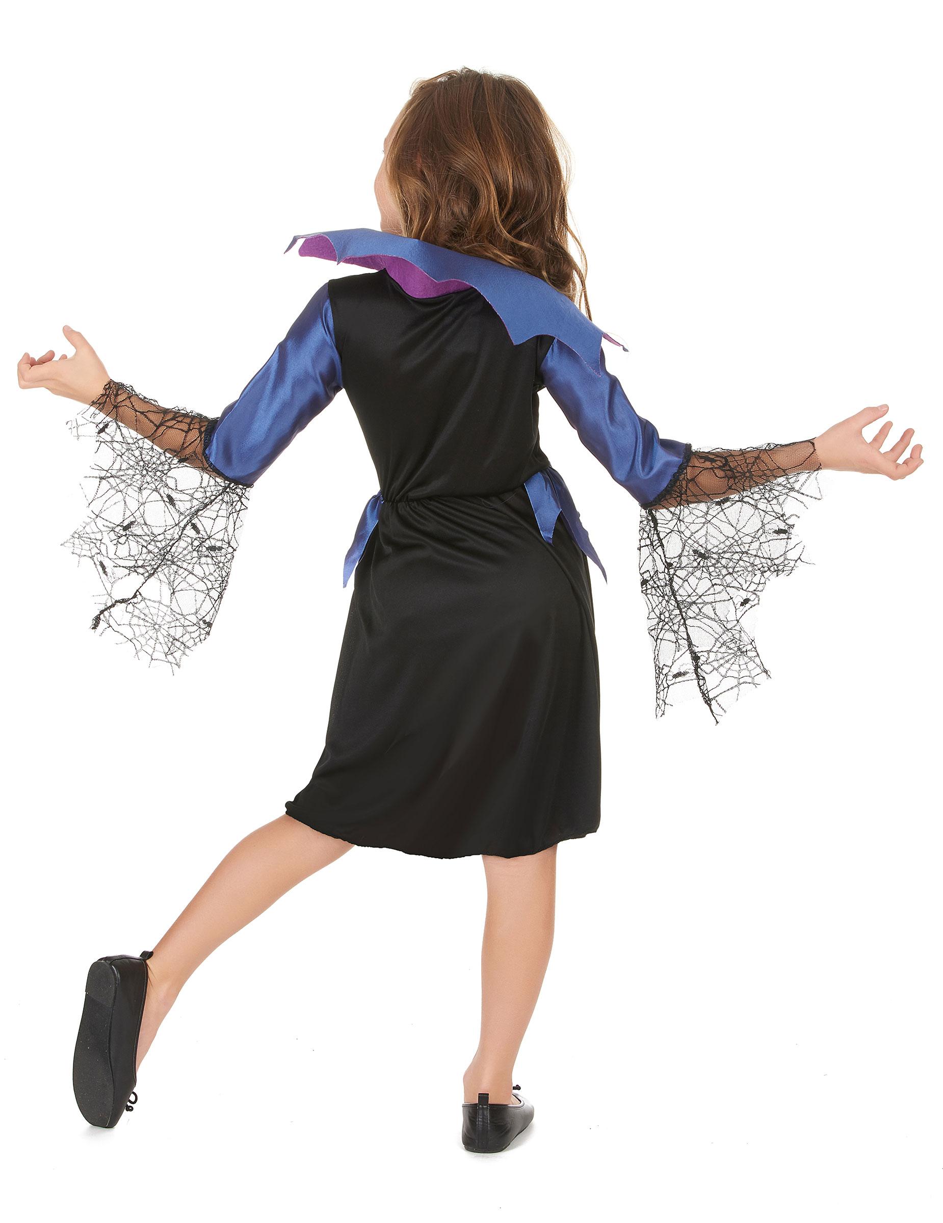 Déguisement bleu reine araignée fille : Deguise-toi, achat de Déguisements  enfants