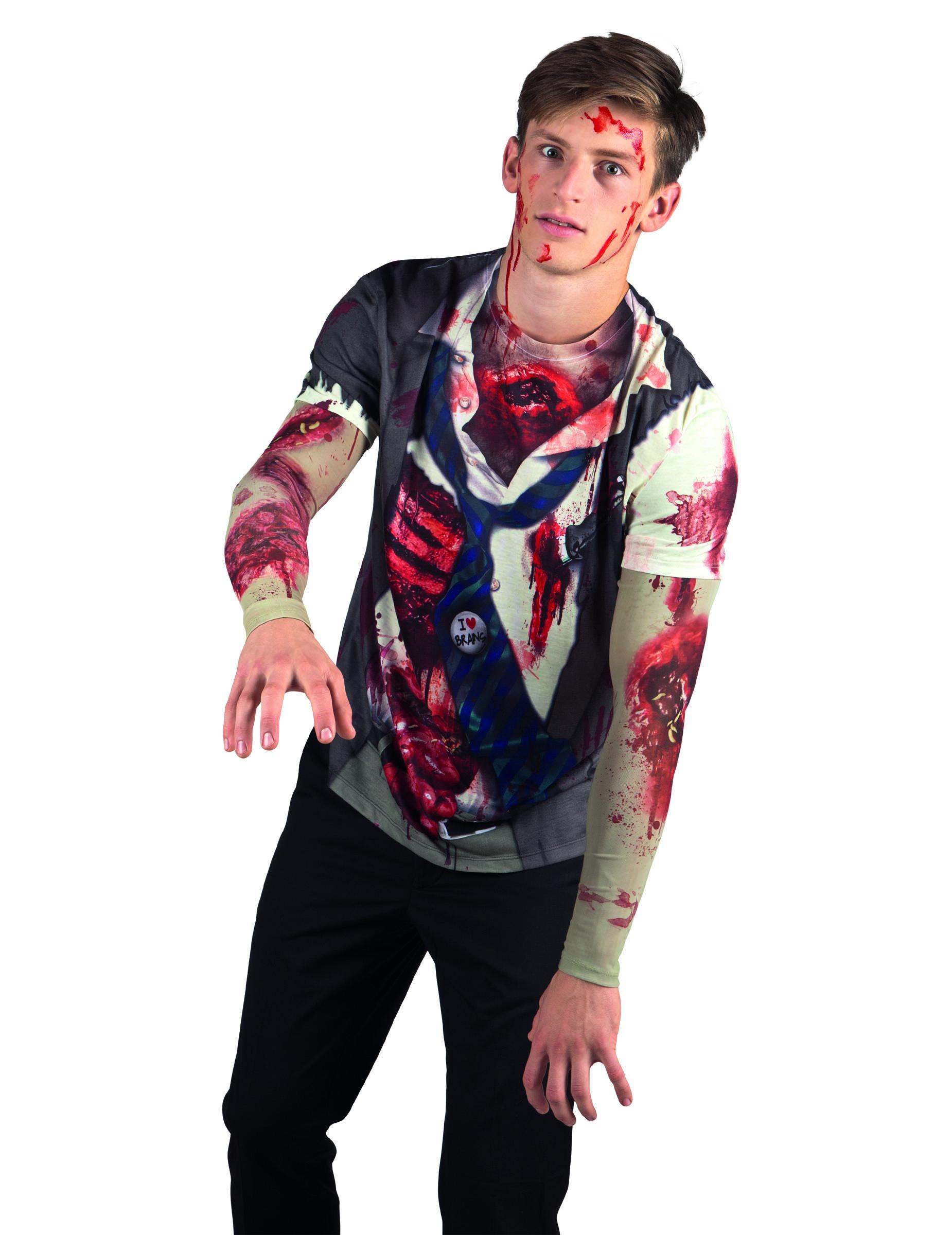T Shirt Zombie Adulte Halloween Deguise Toi Achat De
