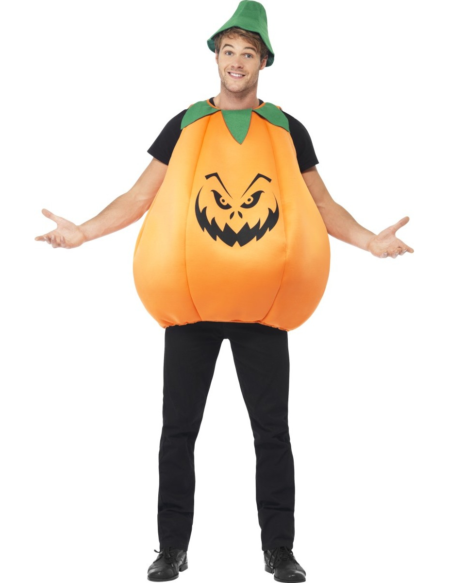 Disfraz de calabaza adulto halloween disfraces adultos - Trajes de calabaza ...