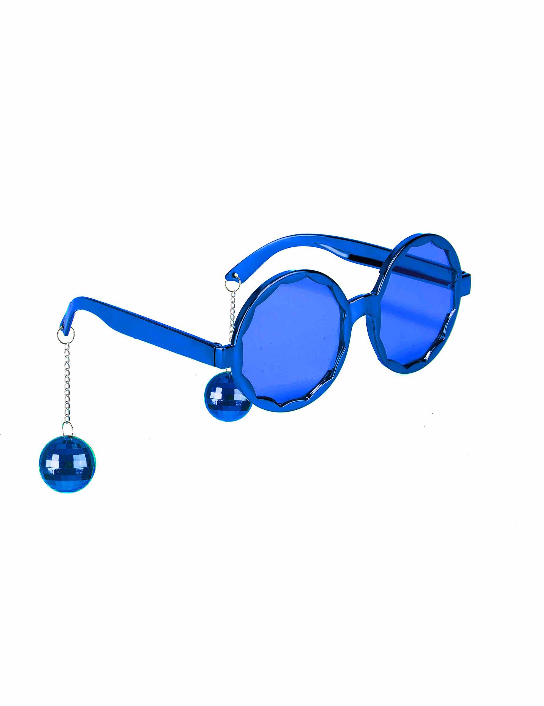 6481ea5c6fe4f7 Lunettes bleues disco adulte   Deguise-toi, achat de Accessoires