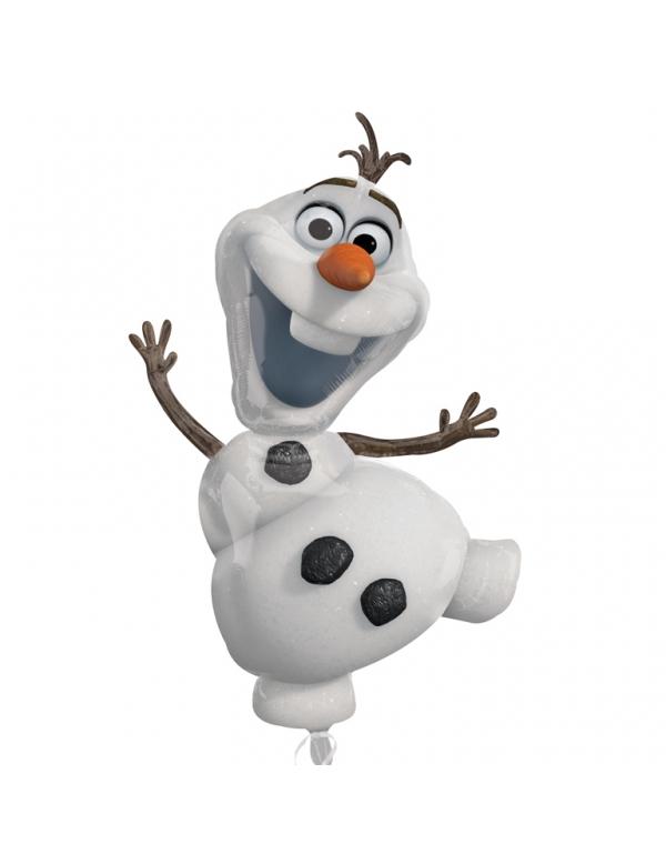 Ballon aluminium olaf reine des neiges deguise toi - Olafe la reine des neiges ...