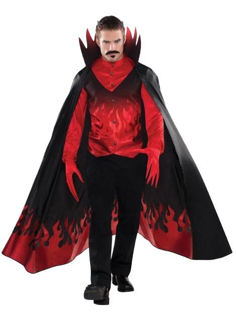 Déguisement diable homme luxe Halloween   Deguise-toi d7f5c72e070