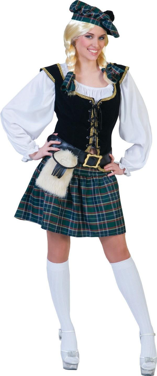 Déguisement écossaise femme : Deguise-toi,