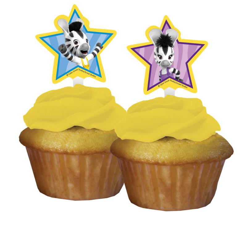 12 d corations pour cupcakes zou - Deco pour cupcake ...