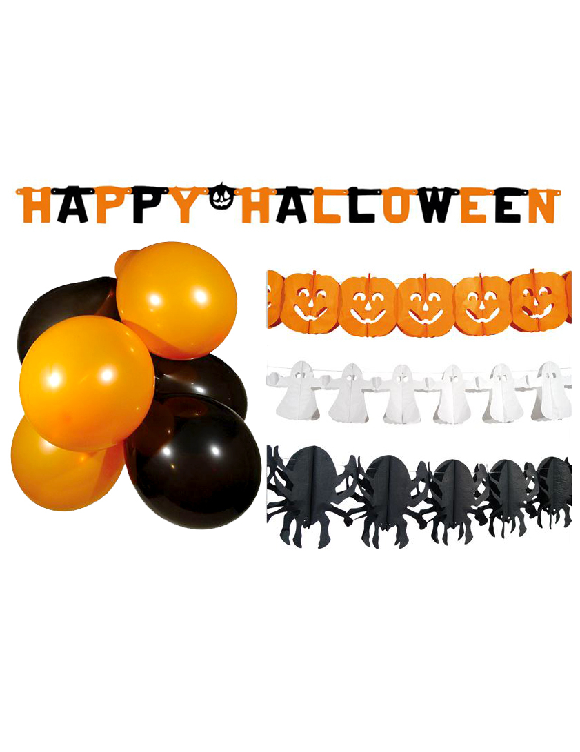 Kit décorations Halloween