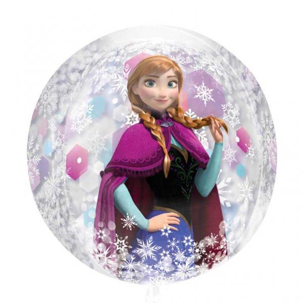 Ballon rond la reine des neiges deguise toi achat de decoration animation - La reine de la deco ...