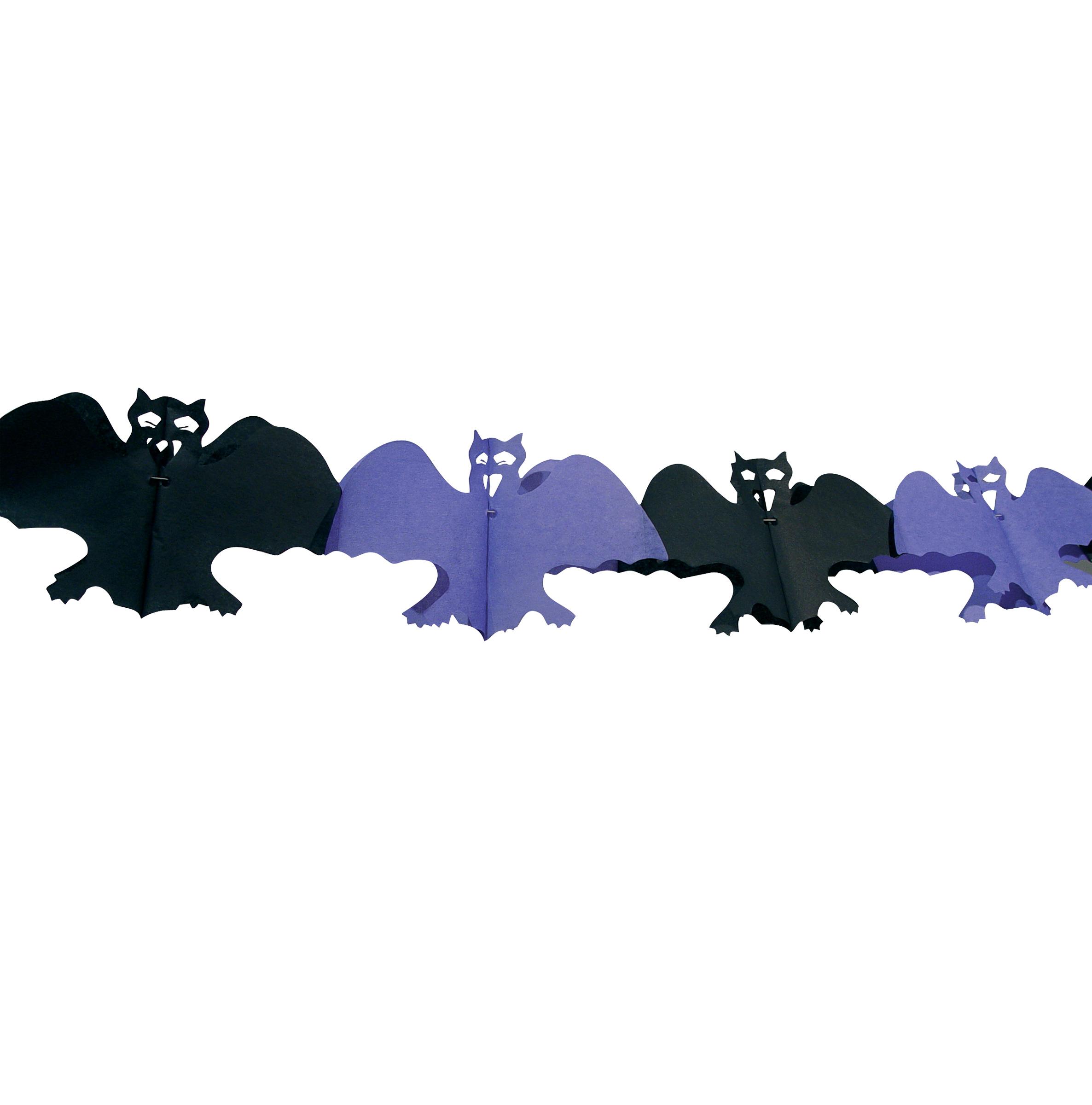 Guirlande chauve souris halloween for Deco halloween chauve souris