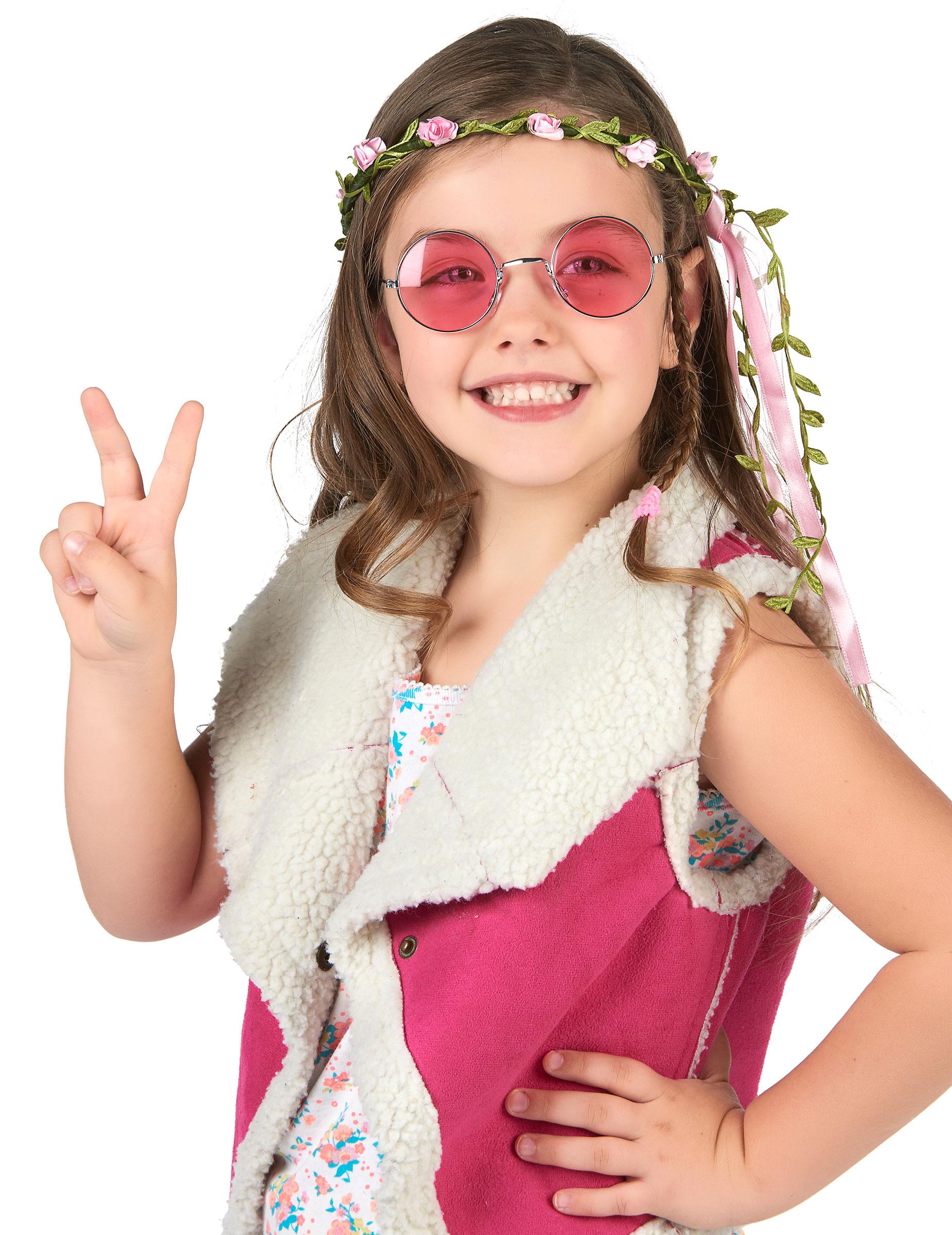couronne fleurs roses enfant deguise toi achat de accessoires. Black Bedroom Furniture Sets. Home Design Ideas