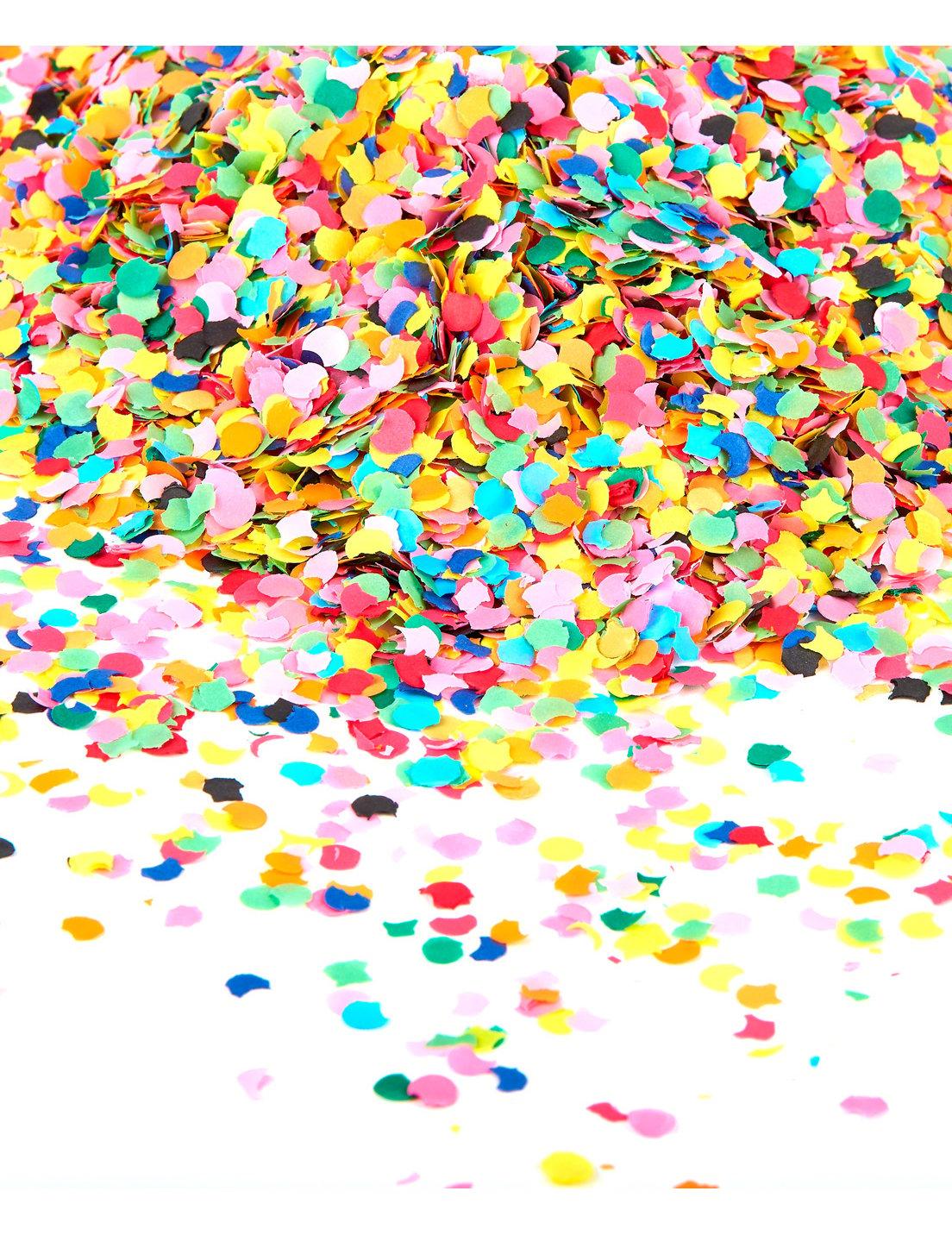Unique Backgrounds Sachet De Confettis 100 Gr Multicolore