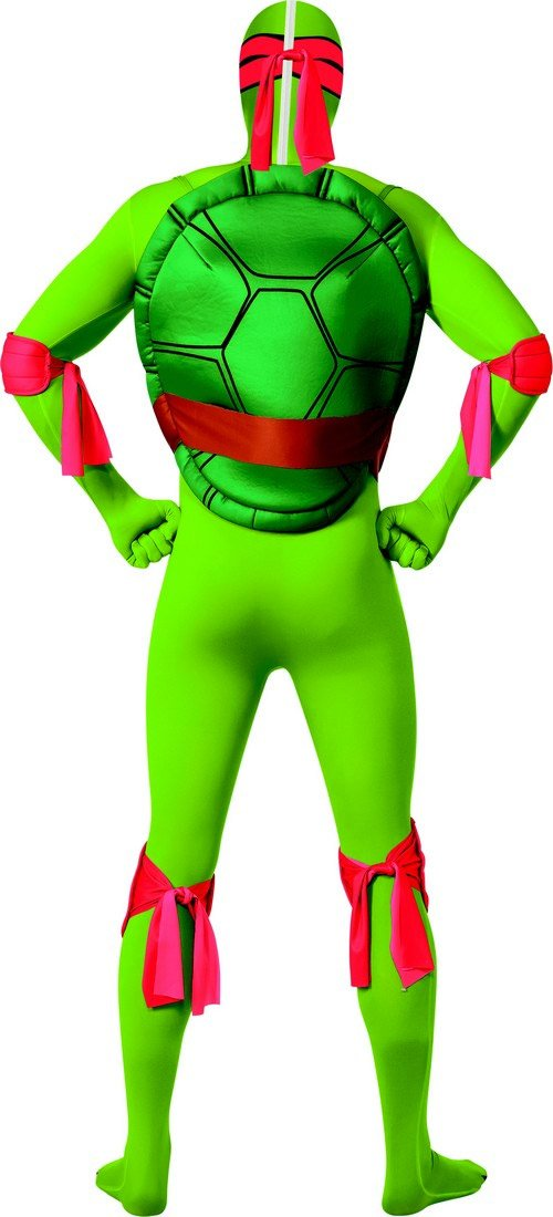 dguisement seconde peau raphael tortues ninja adulte 1 - Tortue Ninja