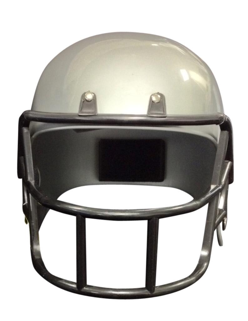 casque footballeur am ricain gris enfant deguise toi achat de chapeaux. Black Bedroom Furniture Sets. Home Design Ideas