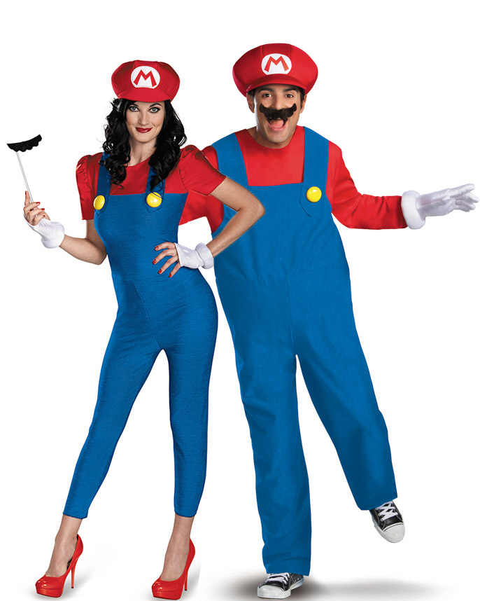 D guisement de couple mario adulte deguise toi achat de d guisements couples - Deguisement couple halloween ...