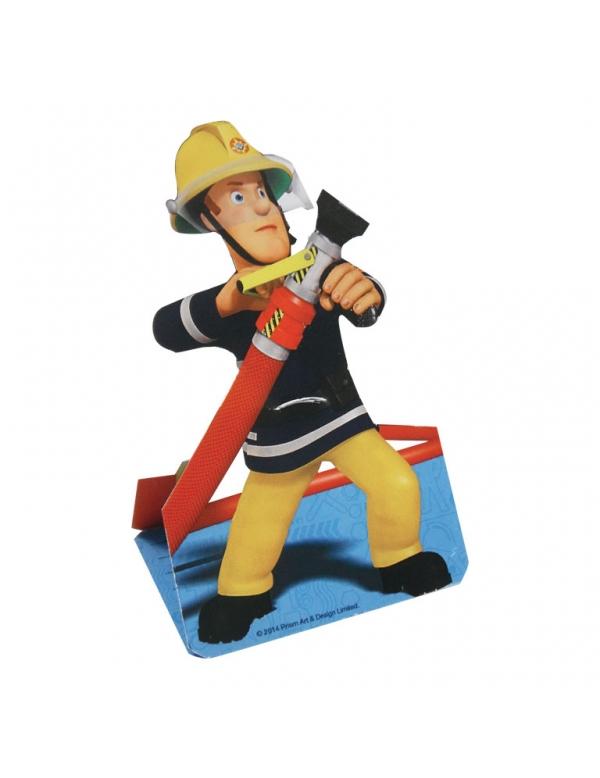 8 cartes d 39 invitation sam le pompier deguise toi achat - Sam le pompier noel ...