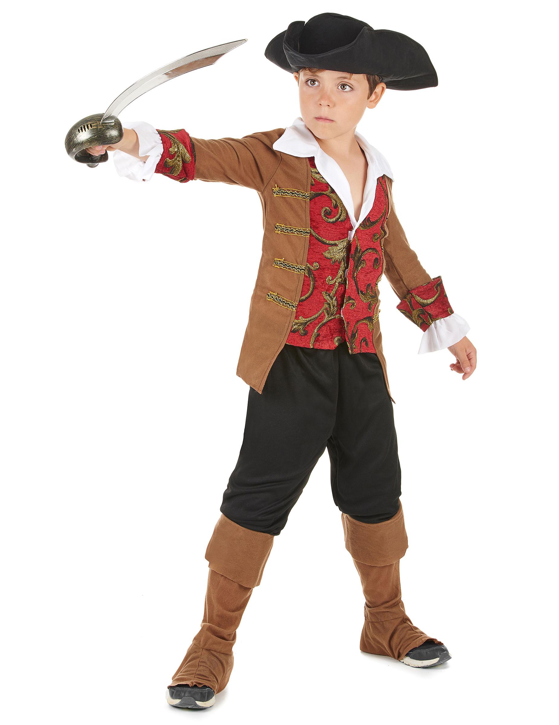 d guisement pirate gar on marron et noir deguise toi achat de d guisements enfants