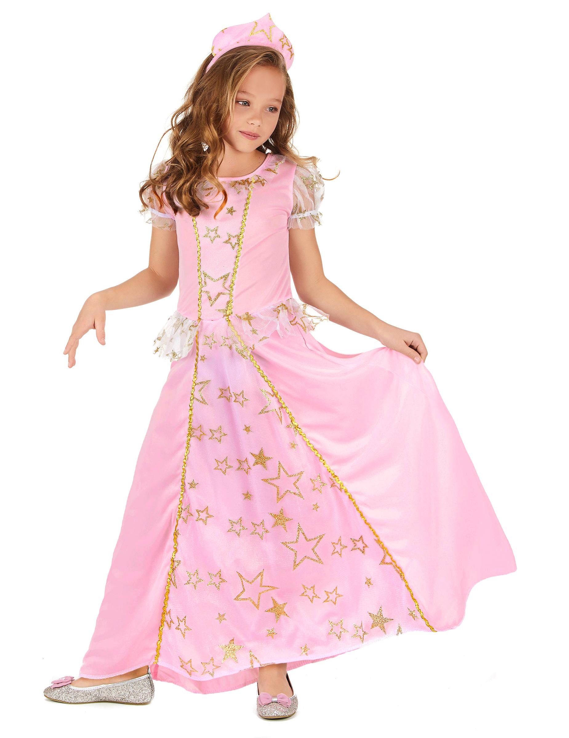 ff6db883fe39c5 Déguisement princesse rose enfant   Deguise-toi, achat de ...