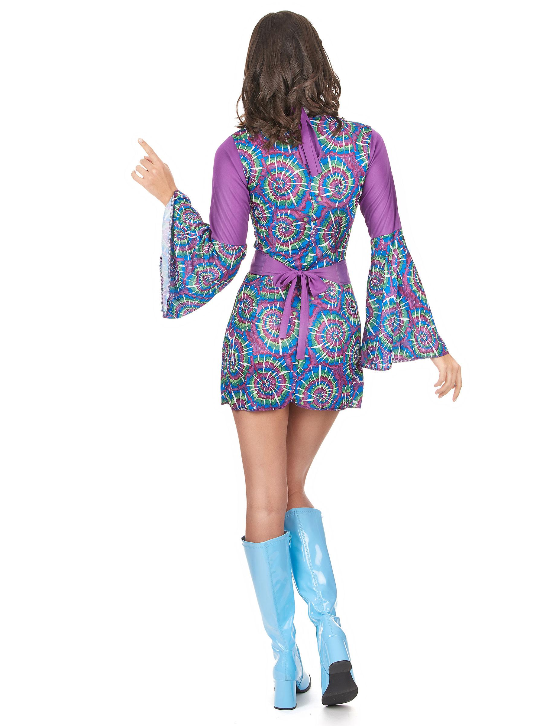 Déguisement hippie psychedelique femme   Deguise-toi, achat de ... 4c9165400c62