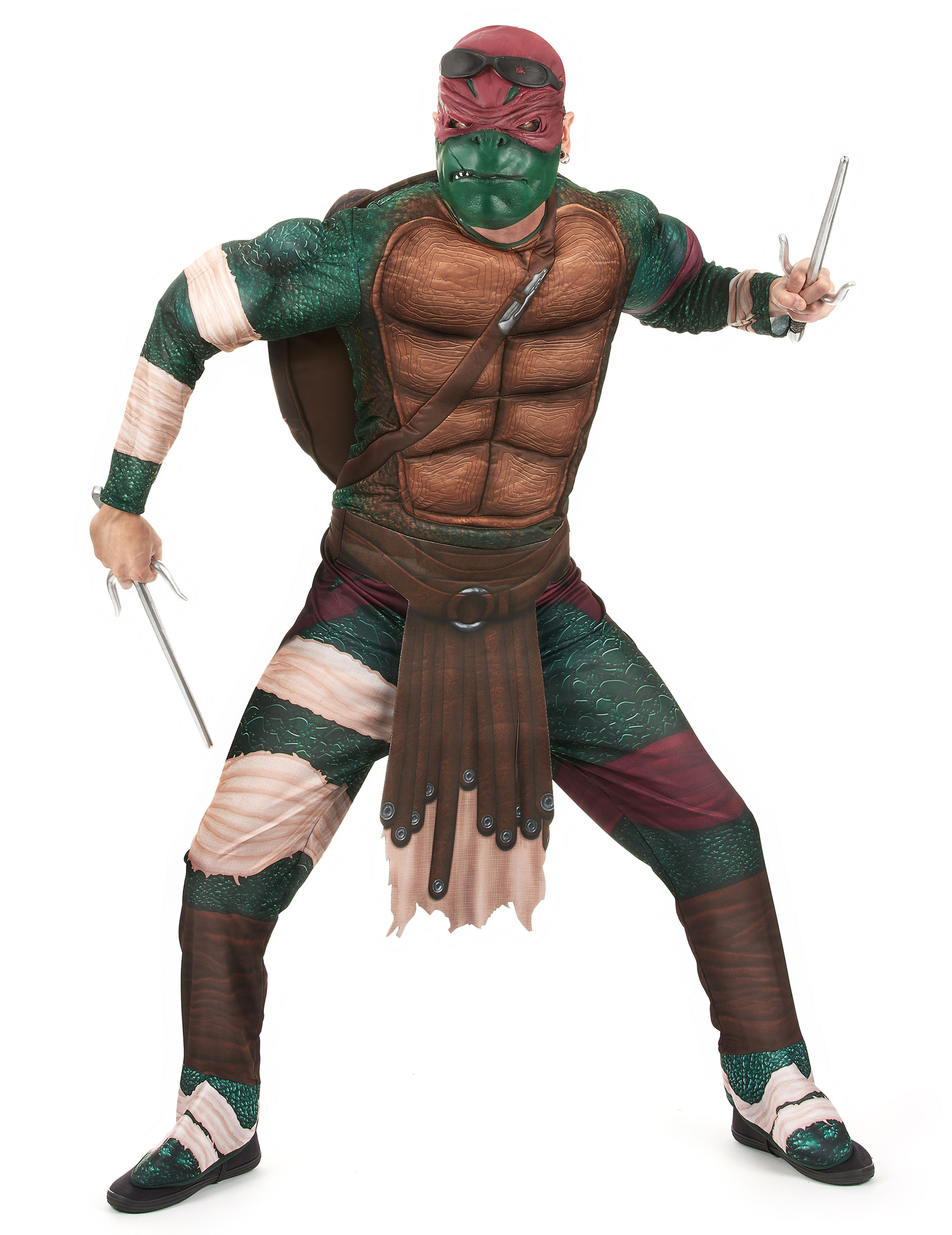 D guisement luxe raphael tortues ninja adulte deguise for Repere des tortue ninja