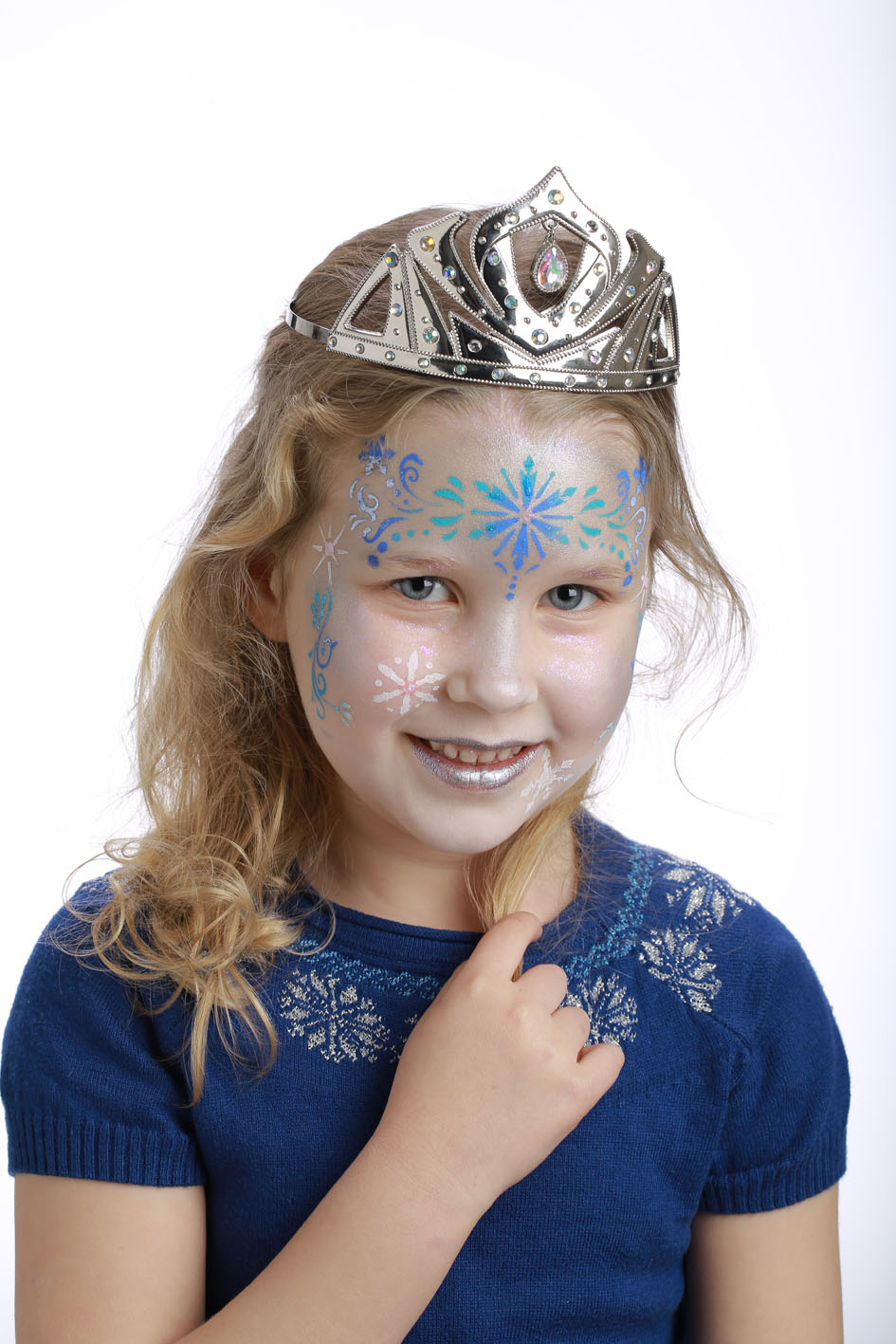 Pochoir de maquillage r utilisable princesse des neiges - Princesse des neiges ...