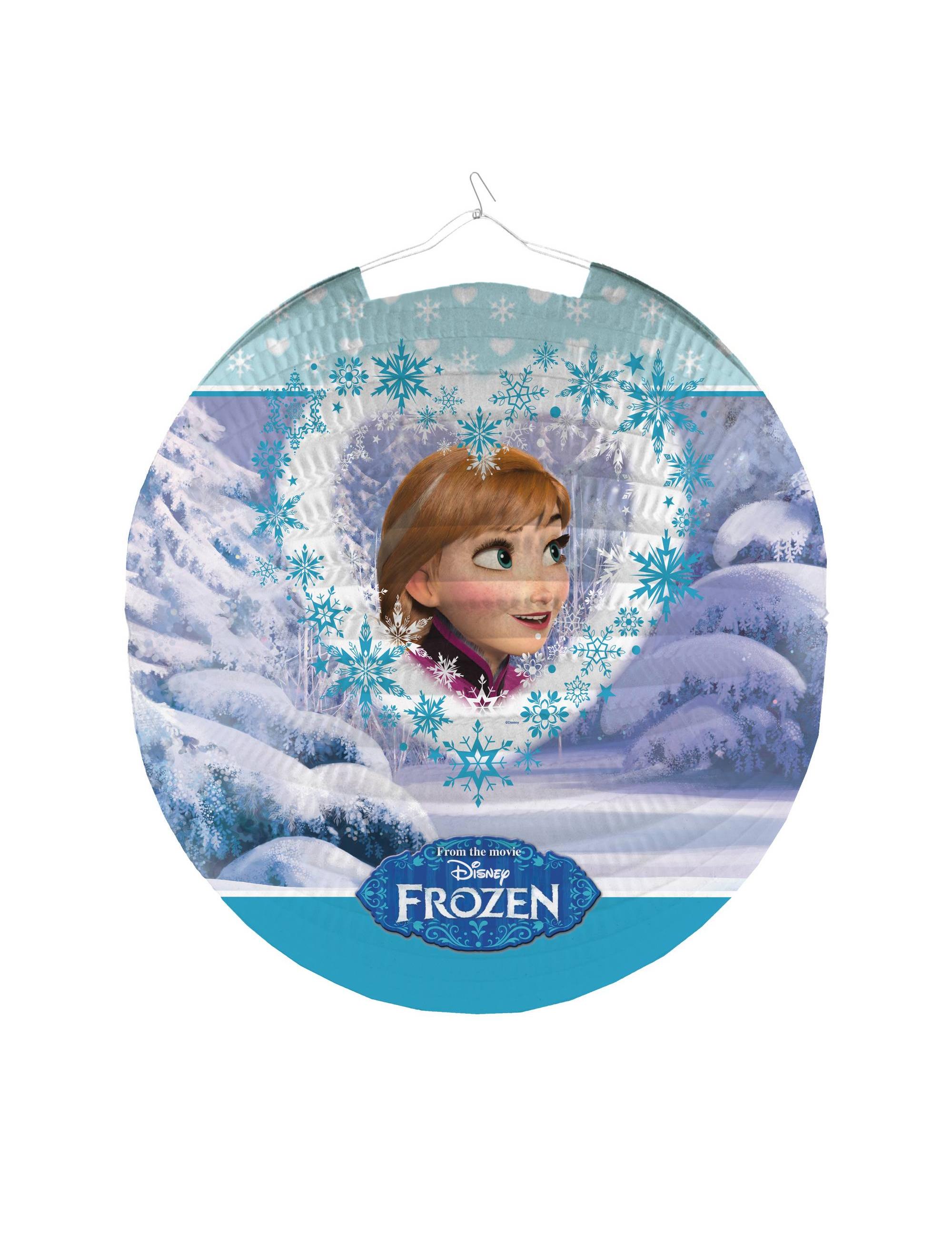 Lampion en papier la reine des neiges 25 cm achat de for Decoration la reine des neiges