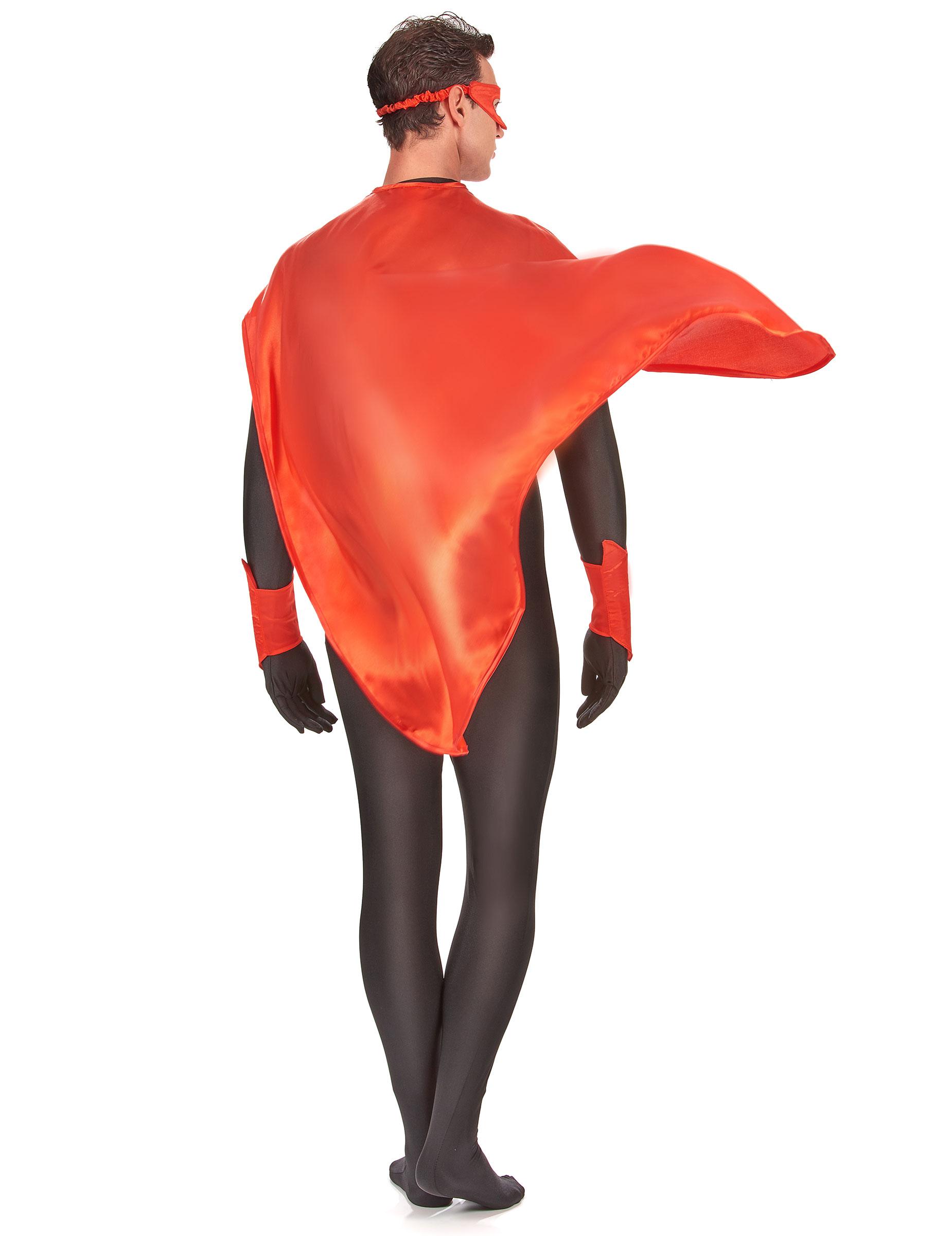 Kit super h ros rouge adulte deguise toi achat de - Kit anniversaire super heros ...