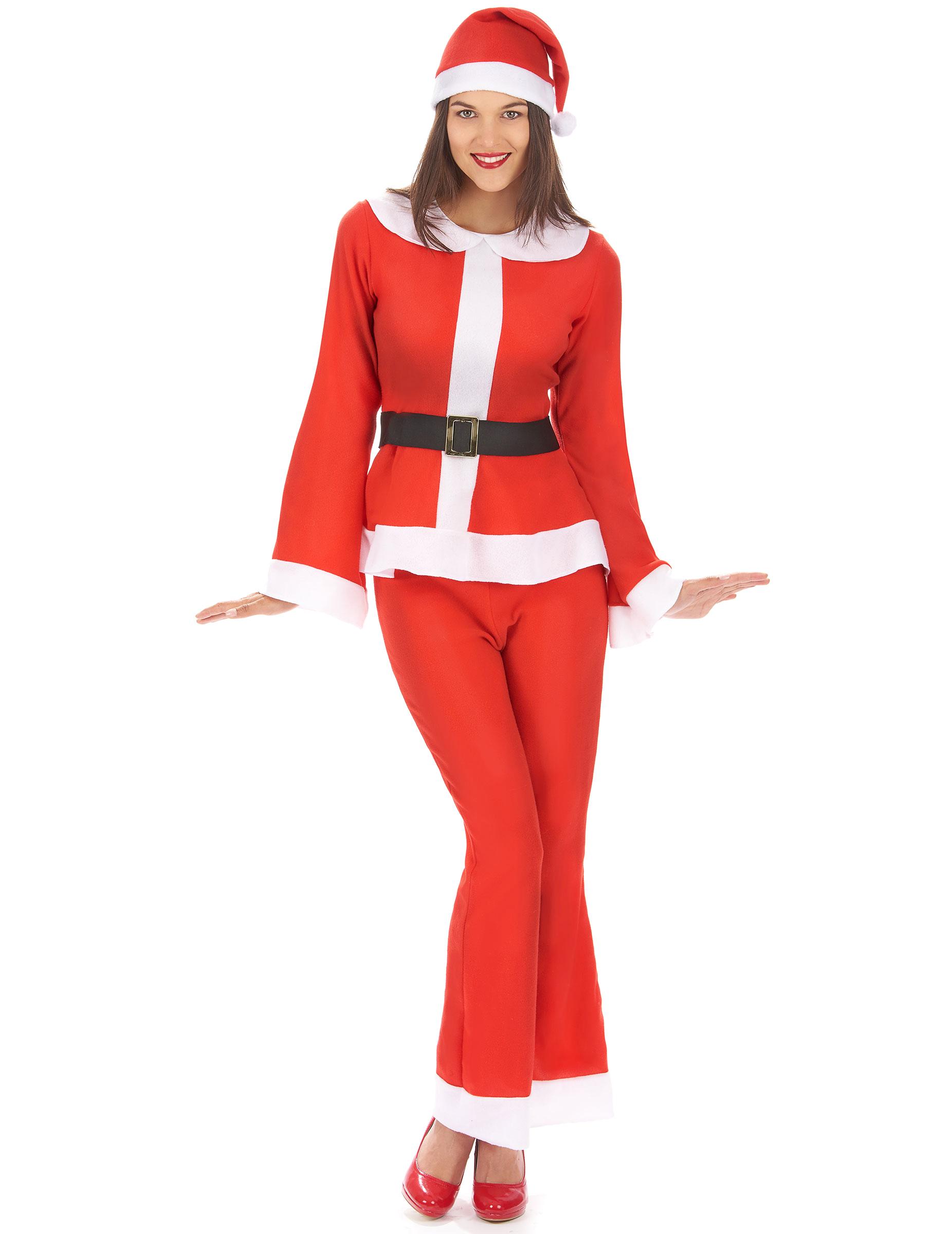1ba90bcce8cfa Déguisement Mère Noël adulte pantalon   Deguise-toi