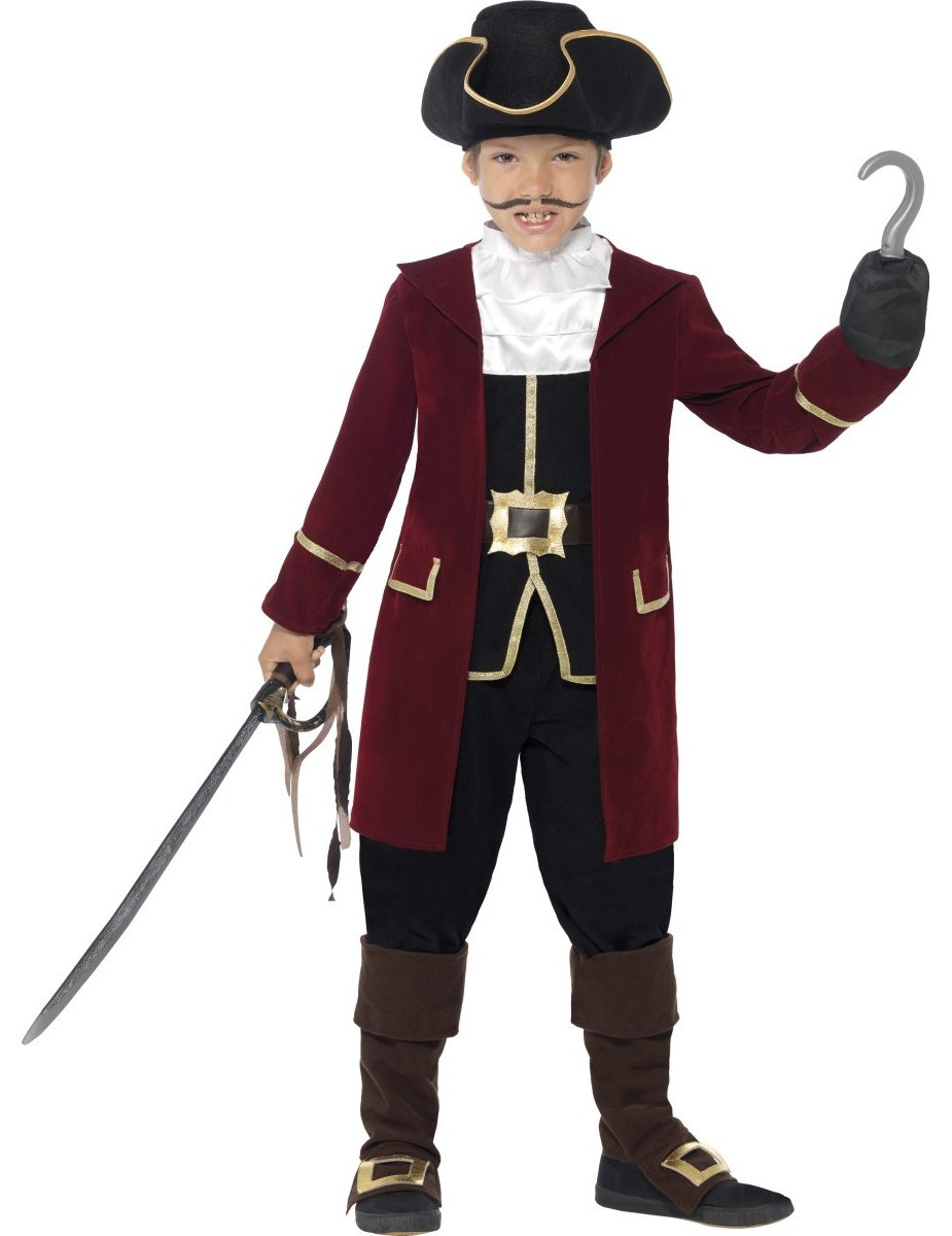 d guisement capitaine pirate gar on deguise toi achat de d guisements enfants. Black Bedroom Furniture Sets. Home Design Ideas