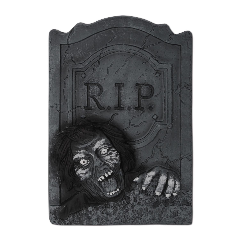 pierre tombale zombie halloween deguise toi achat de decoration animation. Black Bedroom Furniture Sets. Home Design Ideas