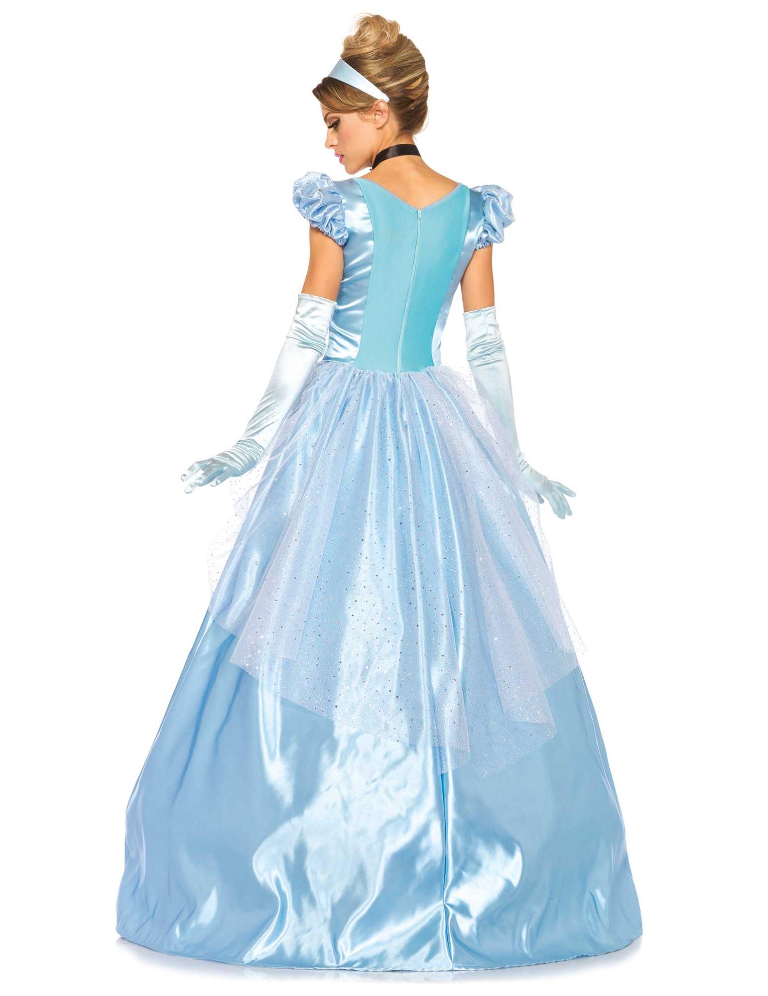 de femme robe toi achat Déguisement Deguise satiné princesse bleu B8TRTq
