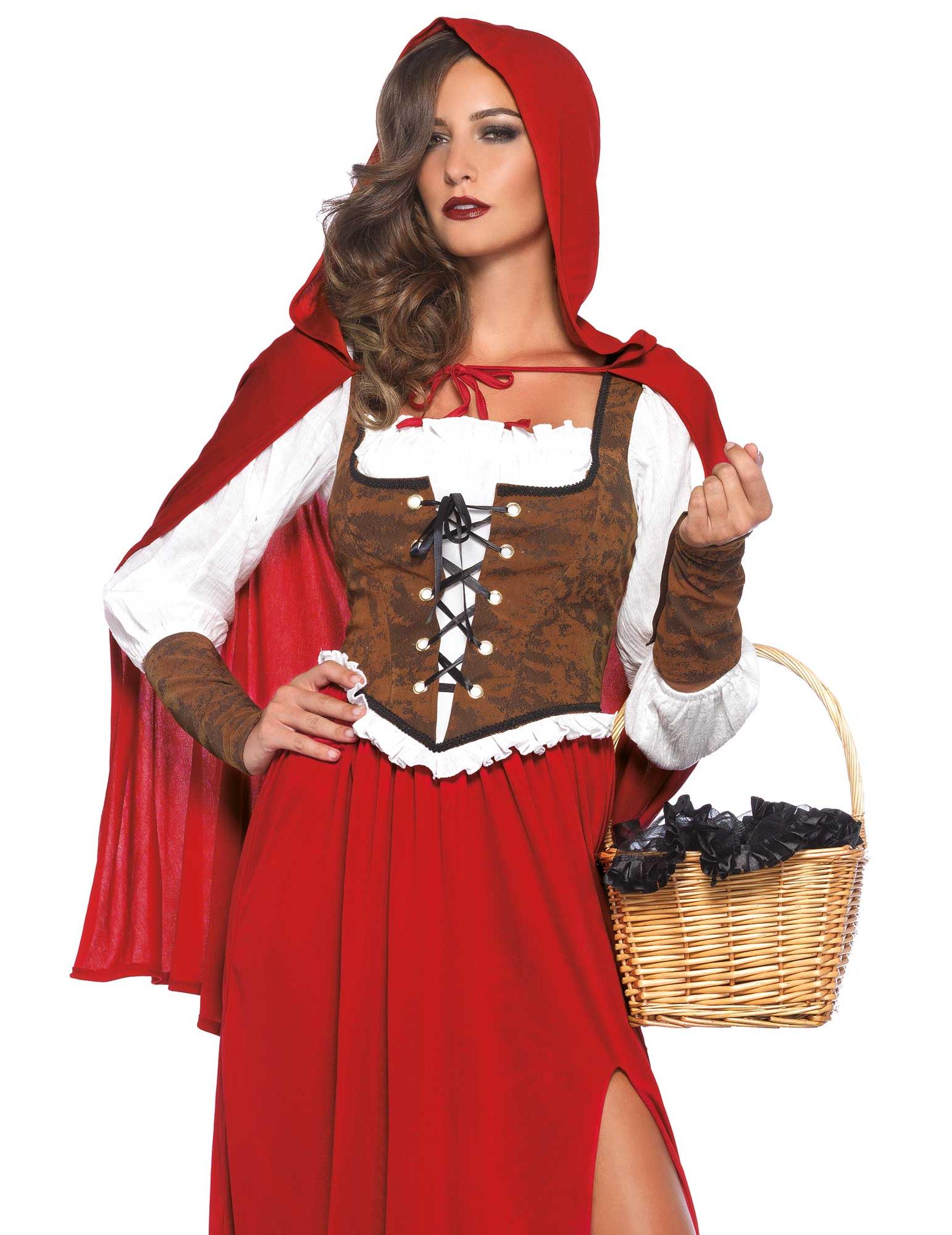 Déguisement chaperon rouge luxe femme   Deguise-toi 0e6f68829b3
