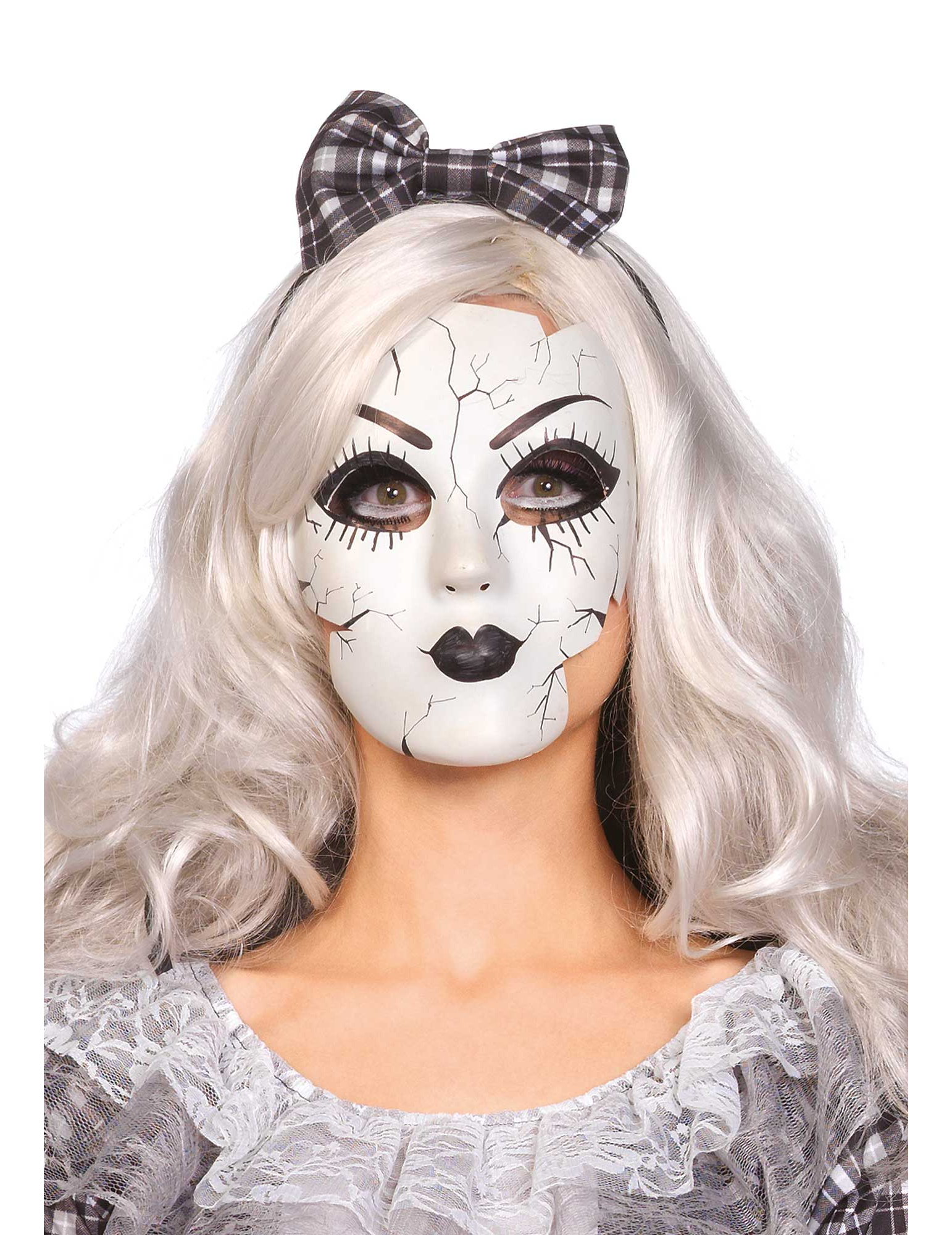 masque poup e de porcelaine deguise toi achat de masques. Black Bedroom Furniture Sets. Home Design Ideas