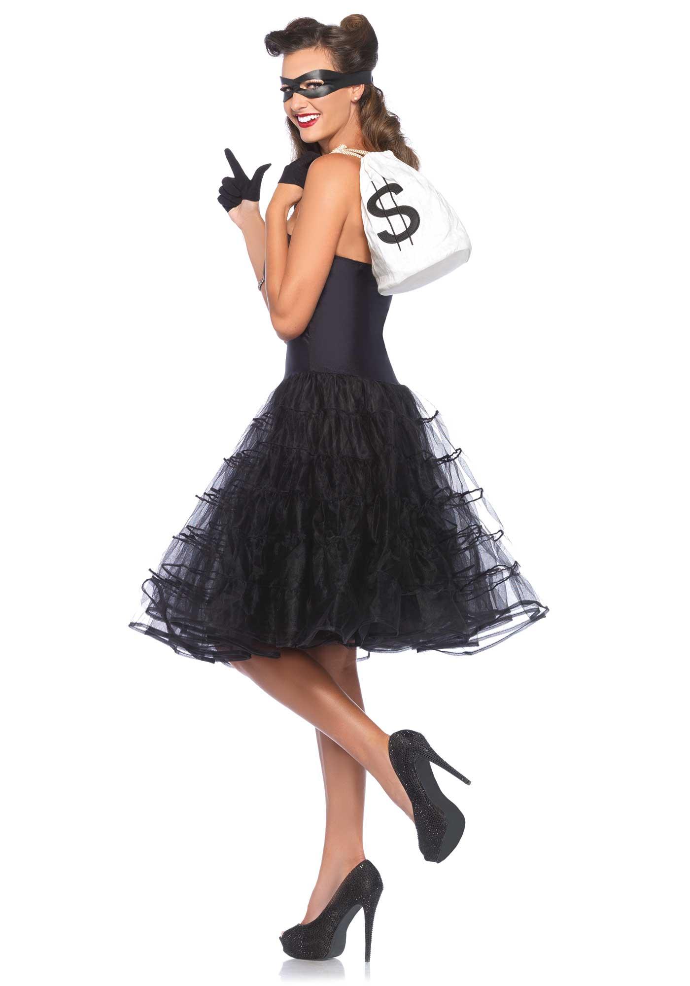 d guisement robe noire ann es 50 femme deguise toi. Black Bedroom Furniture Sets. Home Design Ideas