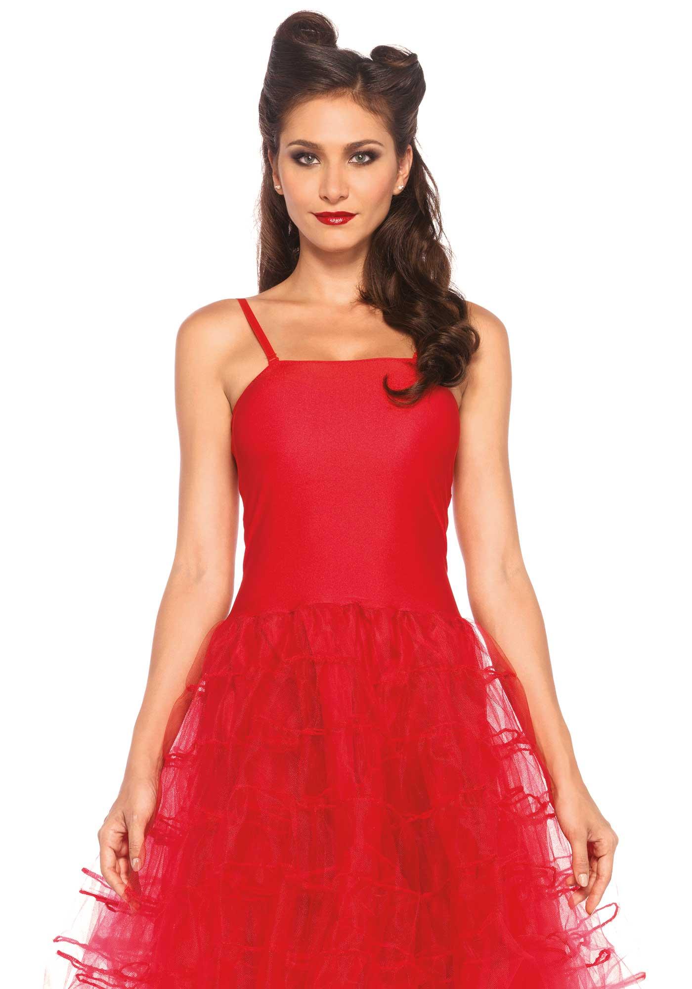 d guisement robe rouge ann es 50 femme deguise toi achat de d guisements adultes. Black Bedroom Furniture Sets. Home Design Ideas