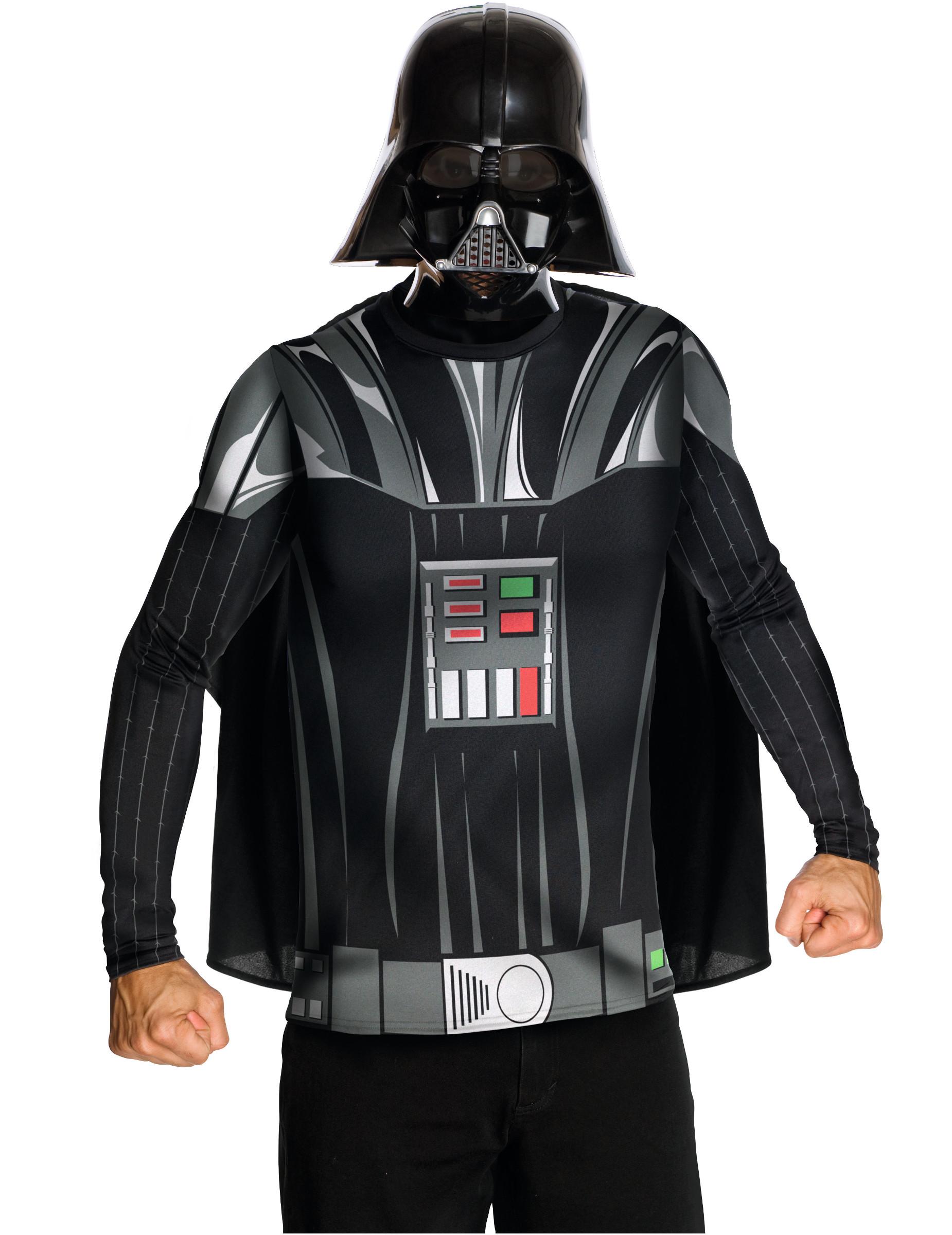 T shirt avec cape et masque dark vador adulte deguise - Image dark vador ...
