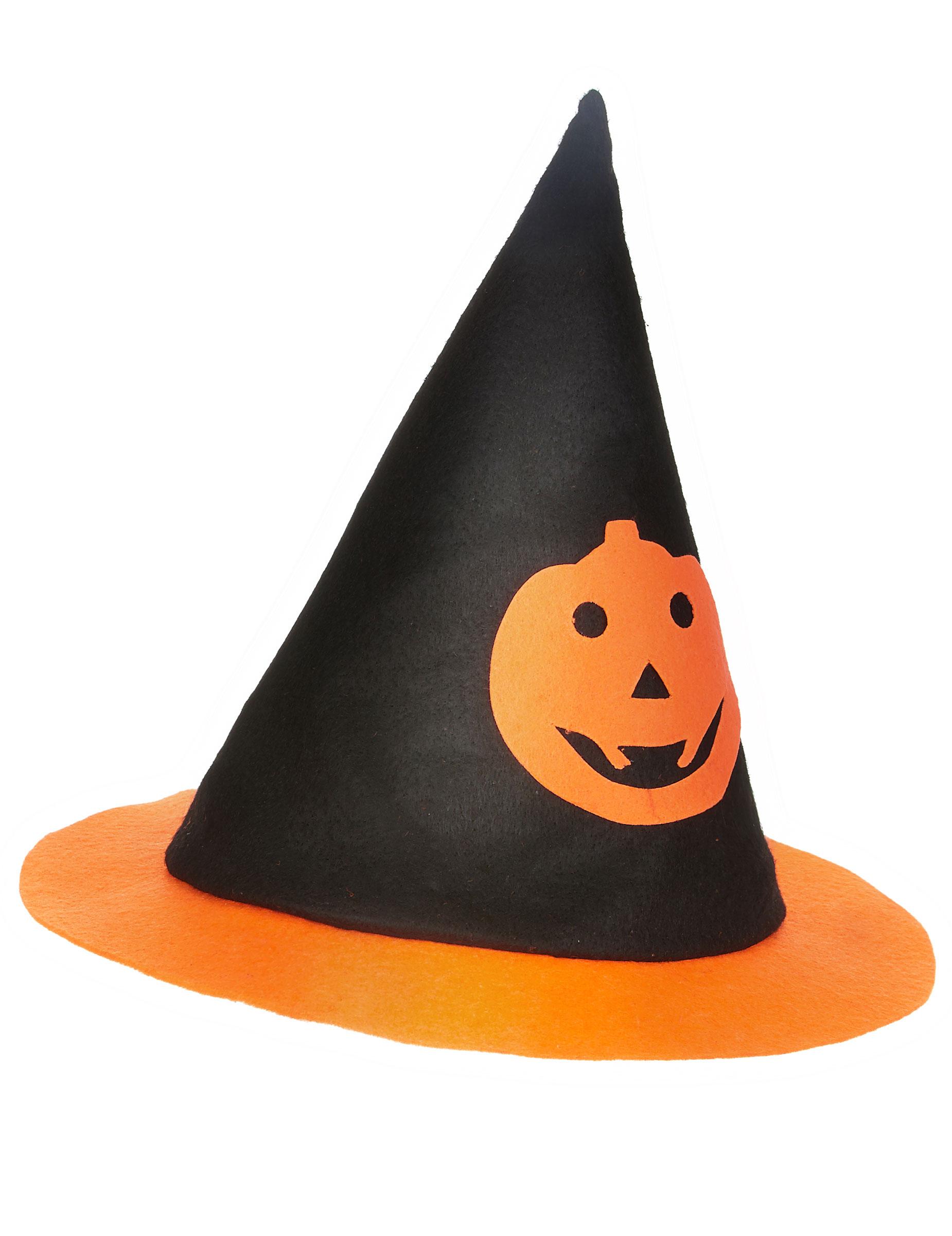 Chapeau sorci re citrouille enfant halloween deguise toi achat de chapeaux - Citrouille halloween en papier ...