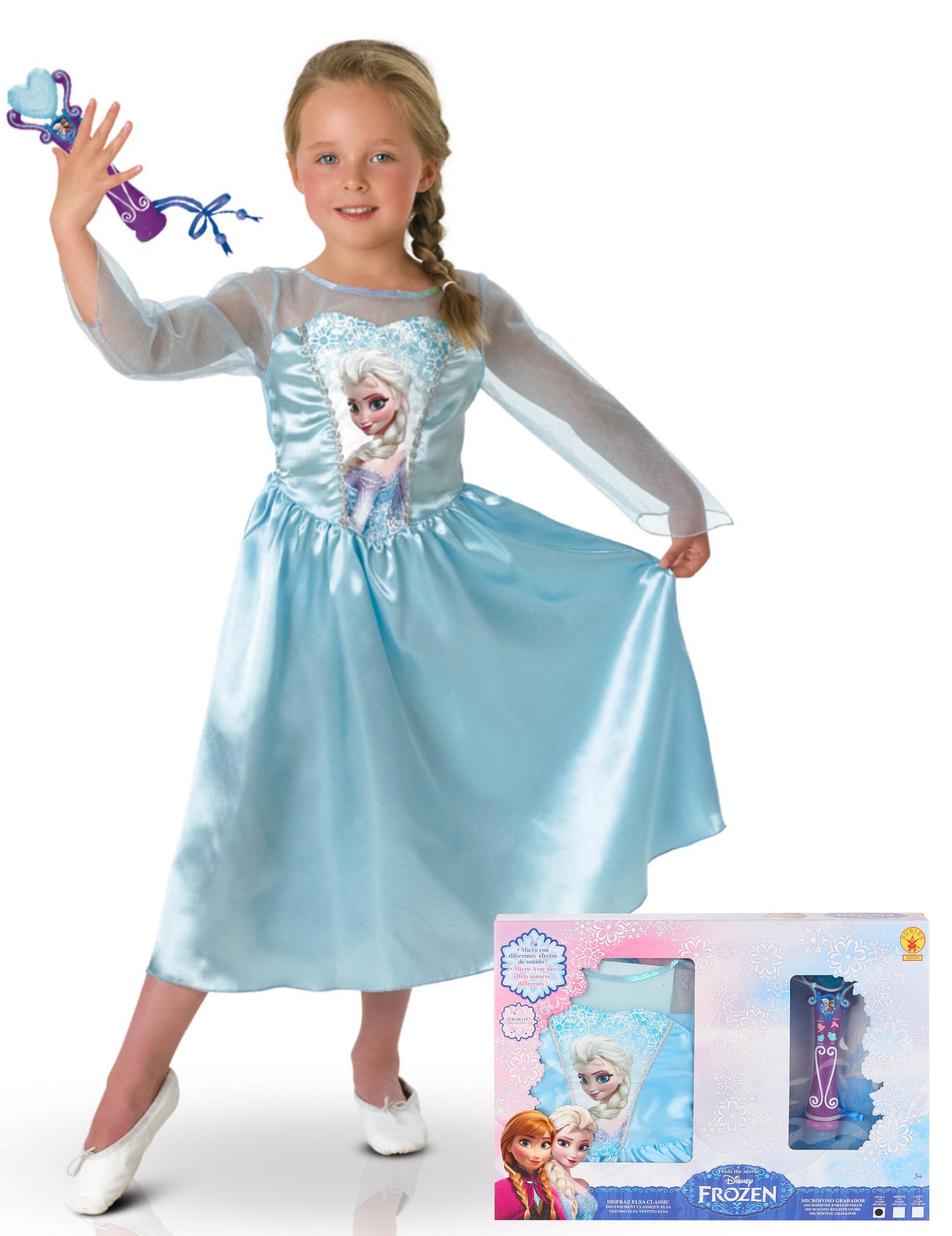Coffret d guisement micro elsa la reine des neiges - Elsa la reine ...